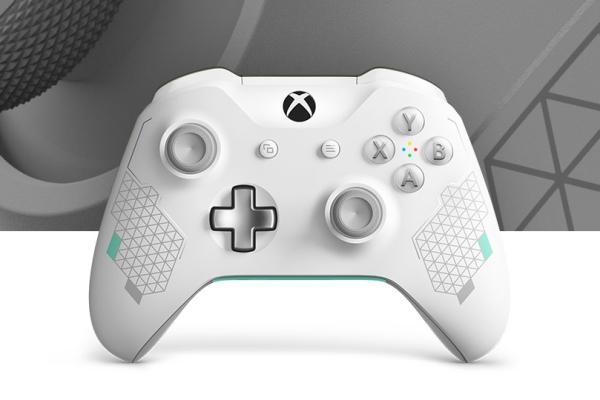 """微软推""""运动白""""Xbox One手柄:配色清新"""