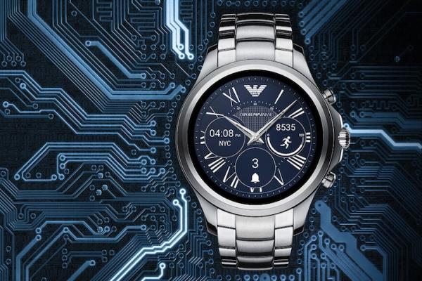 阿瑪尼發布新款智能手表 造型復古