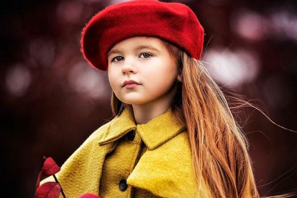可爱俏皮的小仙女 唯美清新的欧系儿童摄影