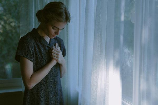 记录蓝调的忧郁时刻 内心宁静的唯美肖像
