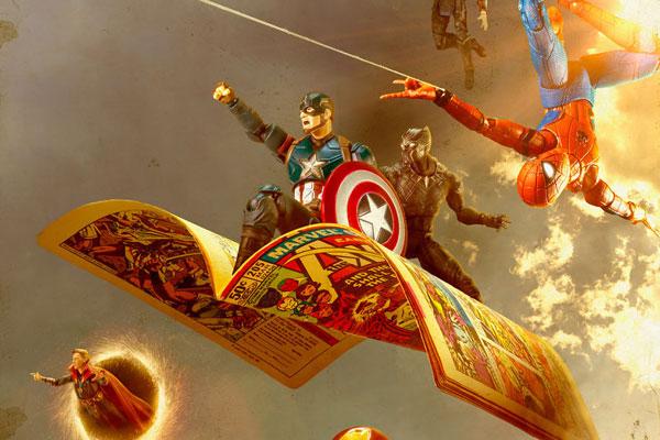 超级英雄的消遣时光 掌控漫威英雄的日常生活