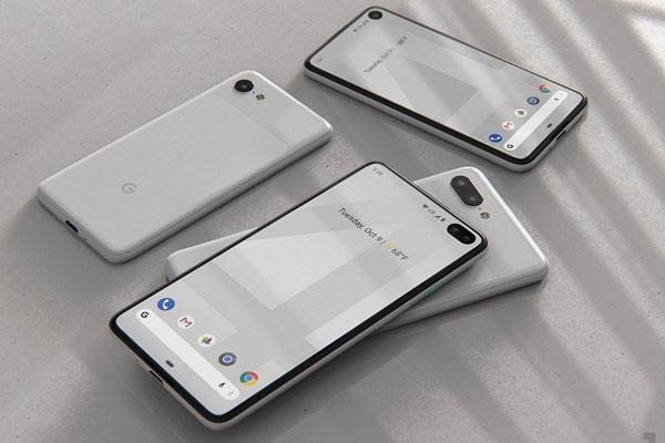 设计疑似泄露 谷歌Pixel4/Pixel4 XL渲染图
