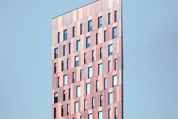 对于建筑细节的精彩刻画 抽象的建筑肖像