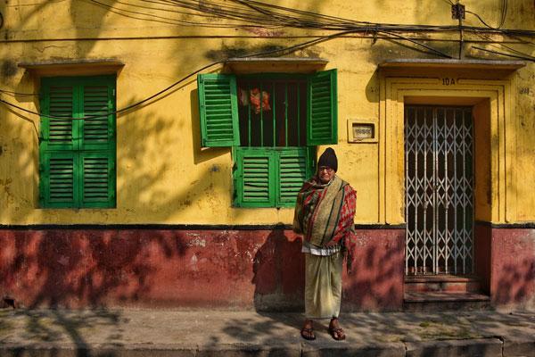 她眼中的印度街头色彩 氛围十足的异域风情