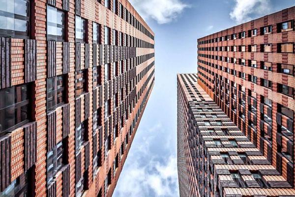 极简几何构建人类文明 极简主义与对称建筑的结合