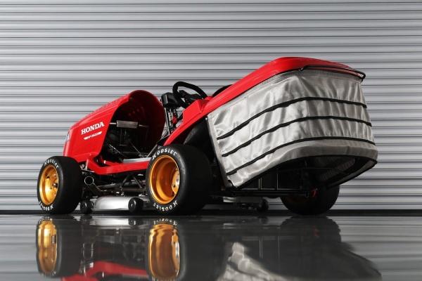 本田Mean Mower V2要成为全球最快割草机