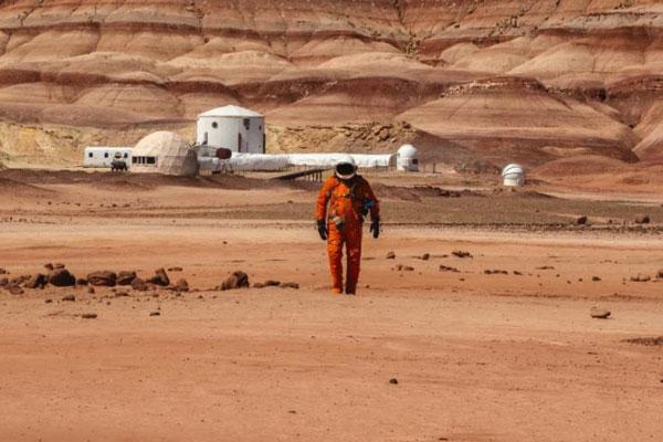 假如我们来到火星 创意视觉颠覆自然世界