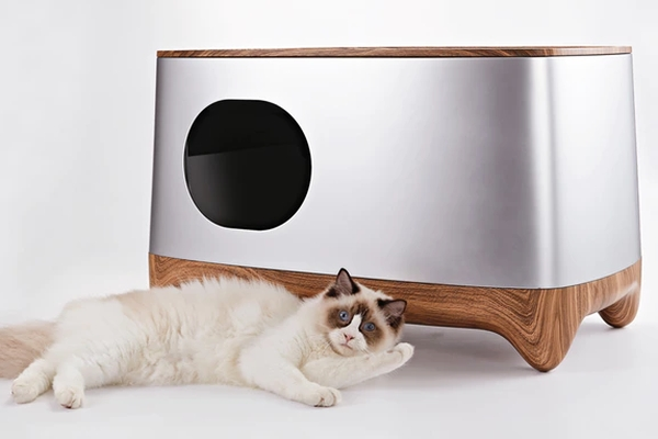 做个幸福铲屎官 智能猫厕所帮你搞定清洁除臭