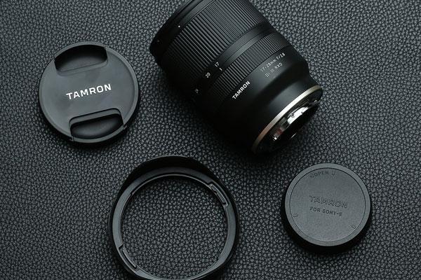 又一支经典 腾龙17-28mm F2.8 Di III RXD开箱图赏