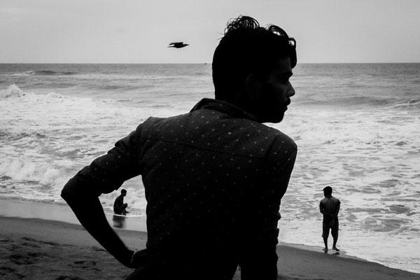 浓郁厚重的街头瞬息 黑白诠释的印度也别有风情