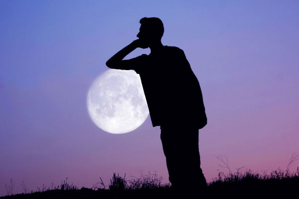 """创意大神的""""月亮之上"""" 拉进你与月亮的距离"""