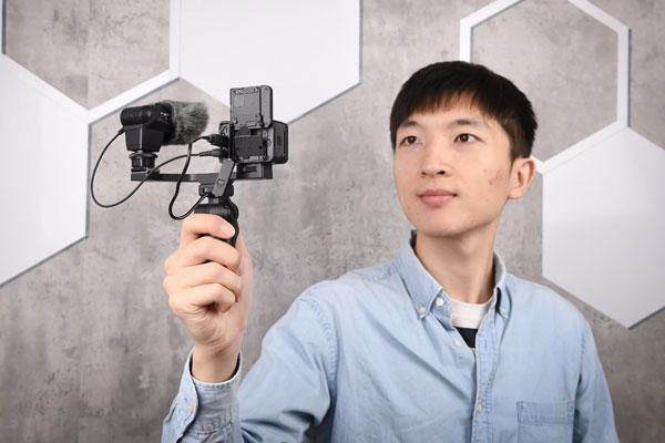 RX0 II视频防抖利器 索尼VCT-SGR1手柄图赏