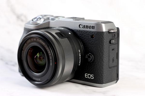 性能精干的Vlog新机 佳能EOS M6 Mark II图赏