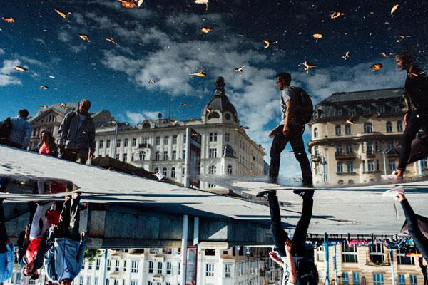 奇趣视角展示劳碌的街头 色彩浓郁的街头摄影