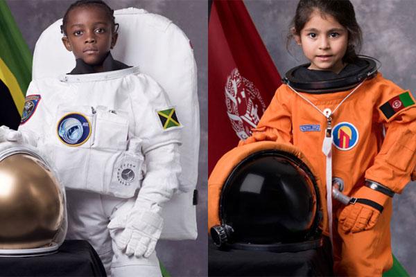 不同的孩子同样的梦想 拥抱孩子们的航空梦