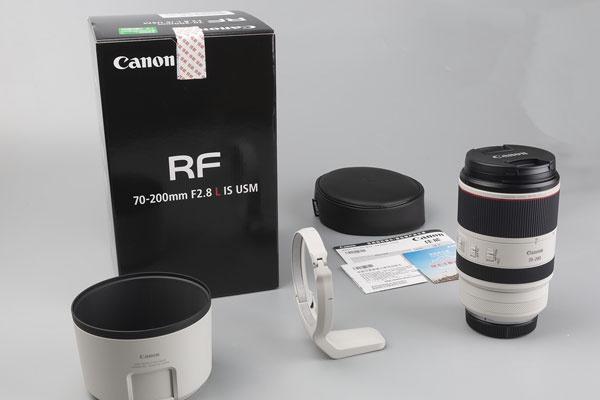 RF口大三元长焦镜头 佳能RF70-200 F2.8开箱图赏