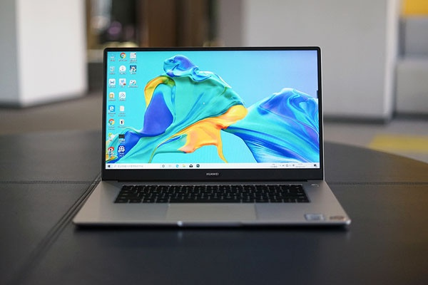 全面屏线条硬朗 HUAWEI MateBook D 15 锐龙版图赏