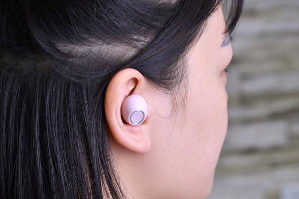 奋豆真无线蓝牙耳机图赏 粉色温暖黑色冷酷