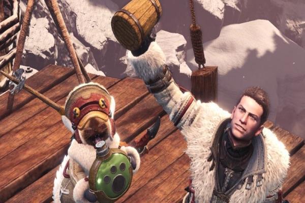 卡普空推《怪物猎人:世界》木质啤酒杯