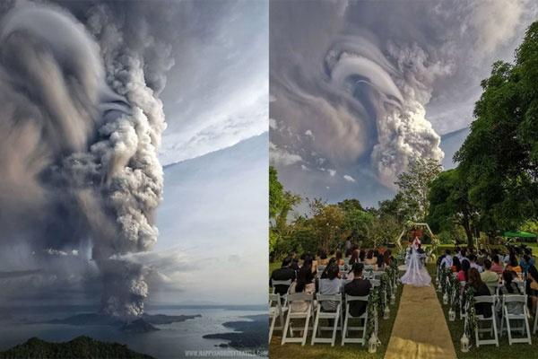 自然的力量 20图感受令人生畏的菲律宾火山爆发