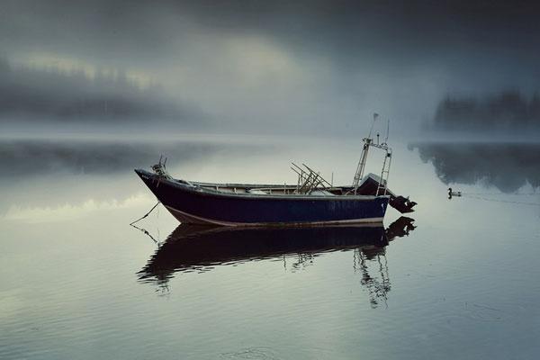 温柔宁静湖面 放松心灵的淡雅之美