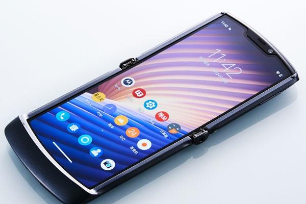 摩托罗拉Razr 5G折叠手机开箱图赏