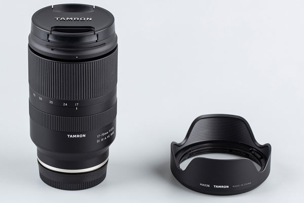 APS-C画幅光学防抖F2.8大光圈 腾龙17-70mm F/2.8外观图赏