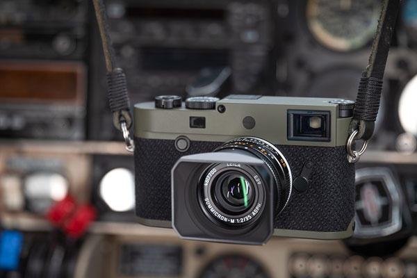 """强力耐刮擦的深绿色涂层 徕卡M10-P """"记者版""""图赏"""