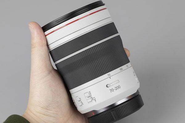 轻巧便携的专微小三元长焦 佳能RF70-200mm F4L IS USM开箱