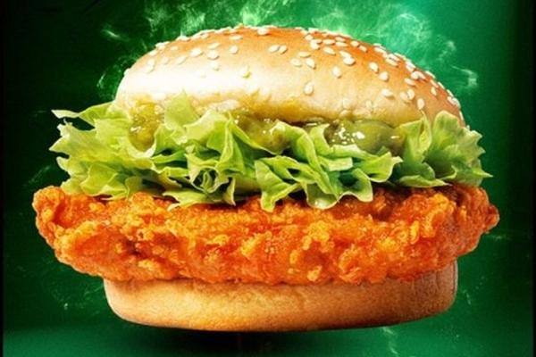 """麦当劳中国推""""小炒肉""""风味鸡腿堡"""