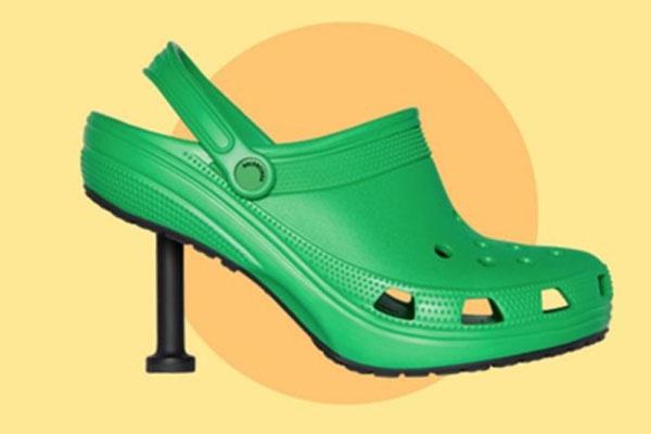 巴黎世家发布高跟洞洞鞋,再次「丑」出新高度