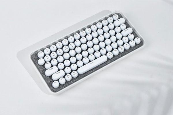 雷柏ralemo Pre5多模无线机械键盘图赏