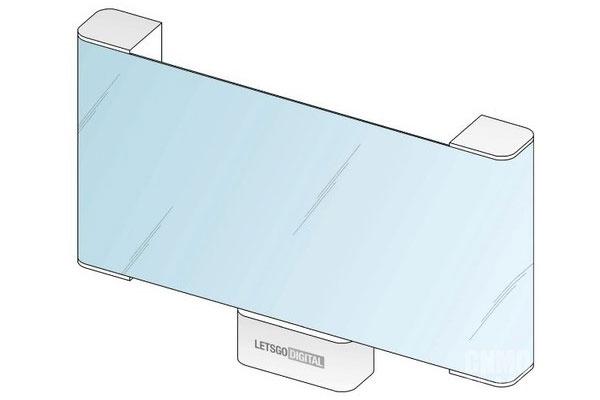 LG可卷曲OLED电视专利公开 屏幕可以从两侧滚动收起