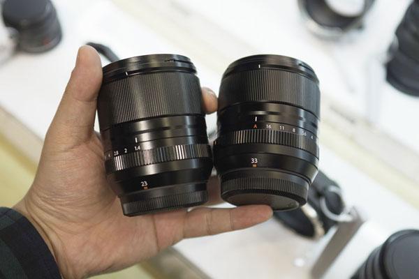 富士XF23mm+33mm F1.4双镜外观实拍