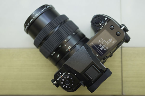 富士全新GFX50S II+GF35-70套机外观实拍