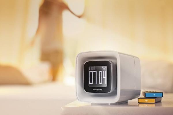 这只闹钟能用各种香味唤醒你 想懒床不容易了
