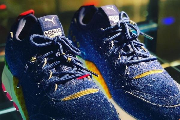 PUMA推索尼克同款跑鞋 情怀满满电玩街头风