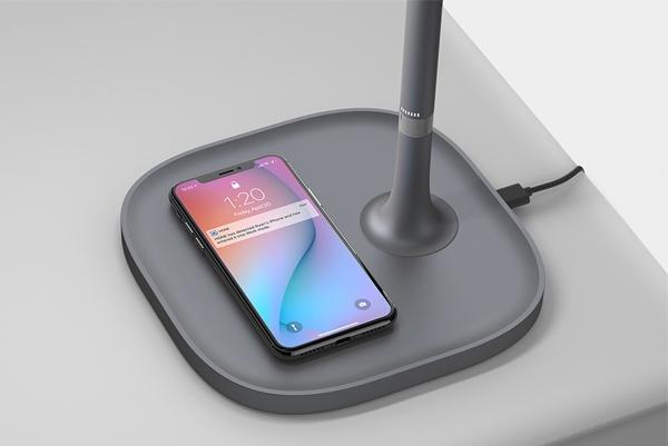 手机依赖症患者的福音:双功能台灯