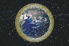 数千万太空垃圾笼罩地球:或撞毁卫星与飞船