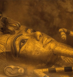 考古大发现:图坦卡蒙墓九成有密室