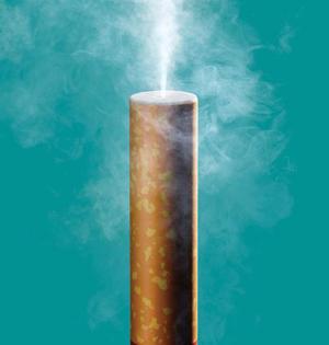 电子烟里有啥无害?尼古丁+调味剂