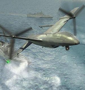 尾坐式超小型无人机:搭载武器着陆