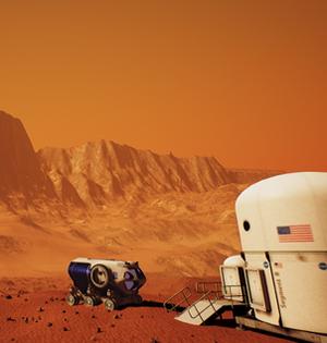 NASA开发虚拟现实火星漫游游戏