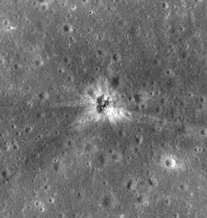 月面发现阿波罗登月时期火箭残骸