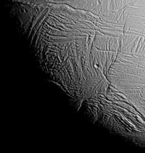NASA发布土卫二图片:或存在生命