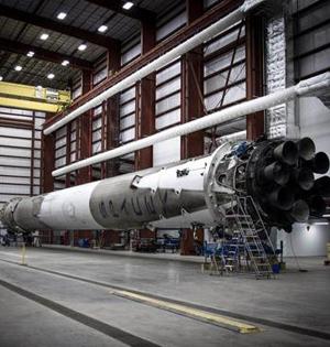 SpaceX火箭回收后有多脏?