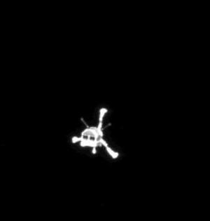 人类首个彗星登陆器菲莱号或失联
