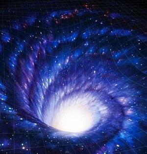 黑洞相当冰冷太阳:行星或支持生命