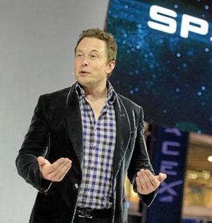 马斯克希望坐自己飞船去空间站