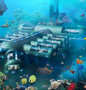 预定水下客房?豪华水下酒店拟开建